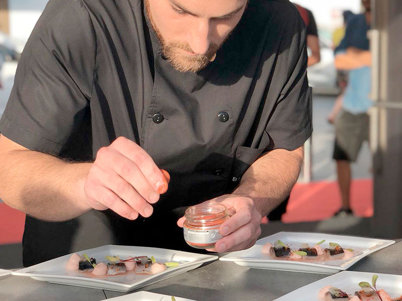 El Rincón de Moraga Restaurante preparación comida