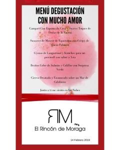 Restaurante El Rincón de Moraga - Especial San Valentín