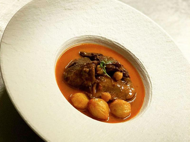 El Rincón de Moraga Restaurante Plato