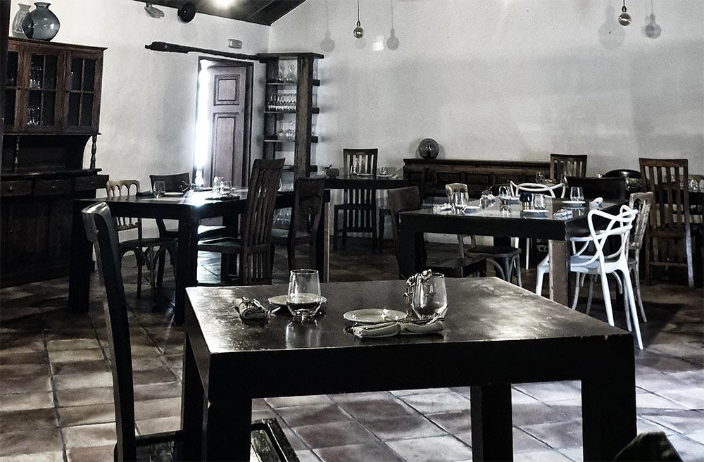 Restaurante El Rincón de Moraga Interior
